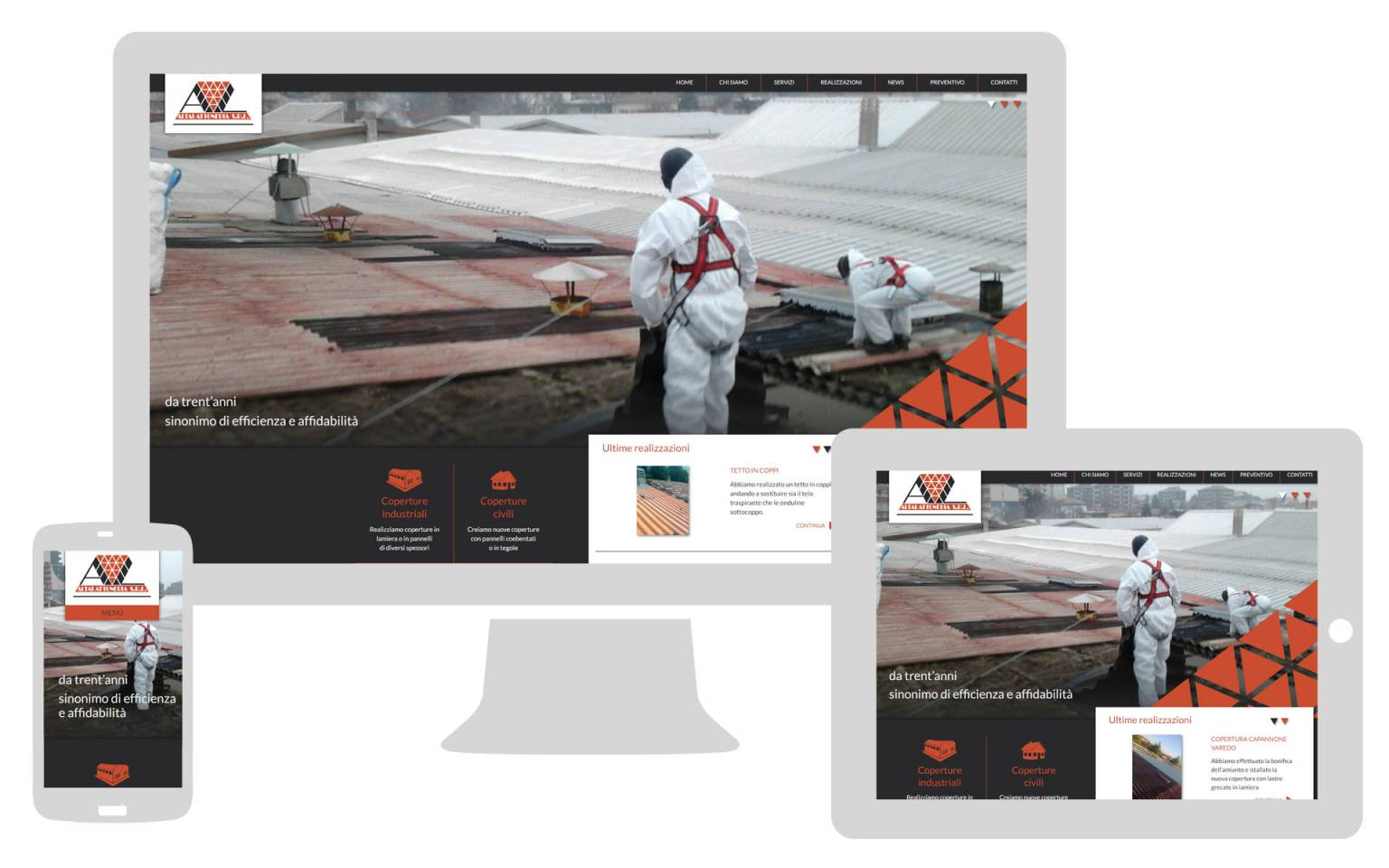 Sito internet responsive Alta Lattoneria NewVisibility web agency Como