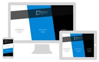 Sito internet responsive Artigiano del VetroNewVisibility web agency Como
