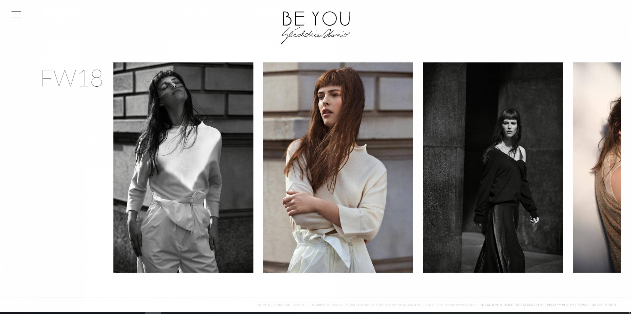 pagina sito be you newvisibility