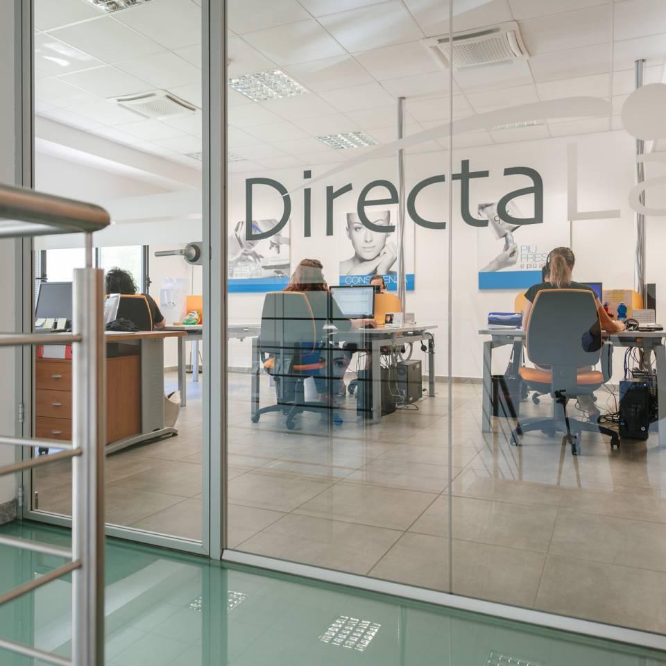 Servizio fotografico per landing page sito internet Directa Lab