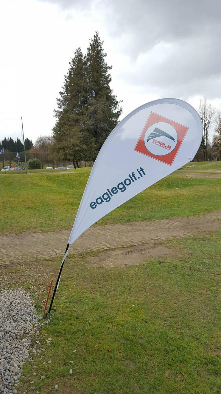 Realizzazione oggetti promozionali Eagle Golf NewVisibility