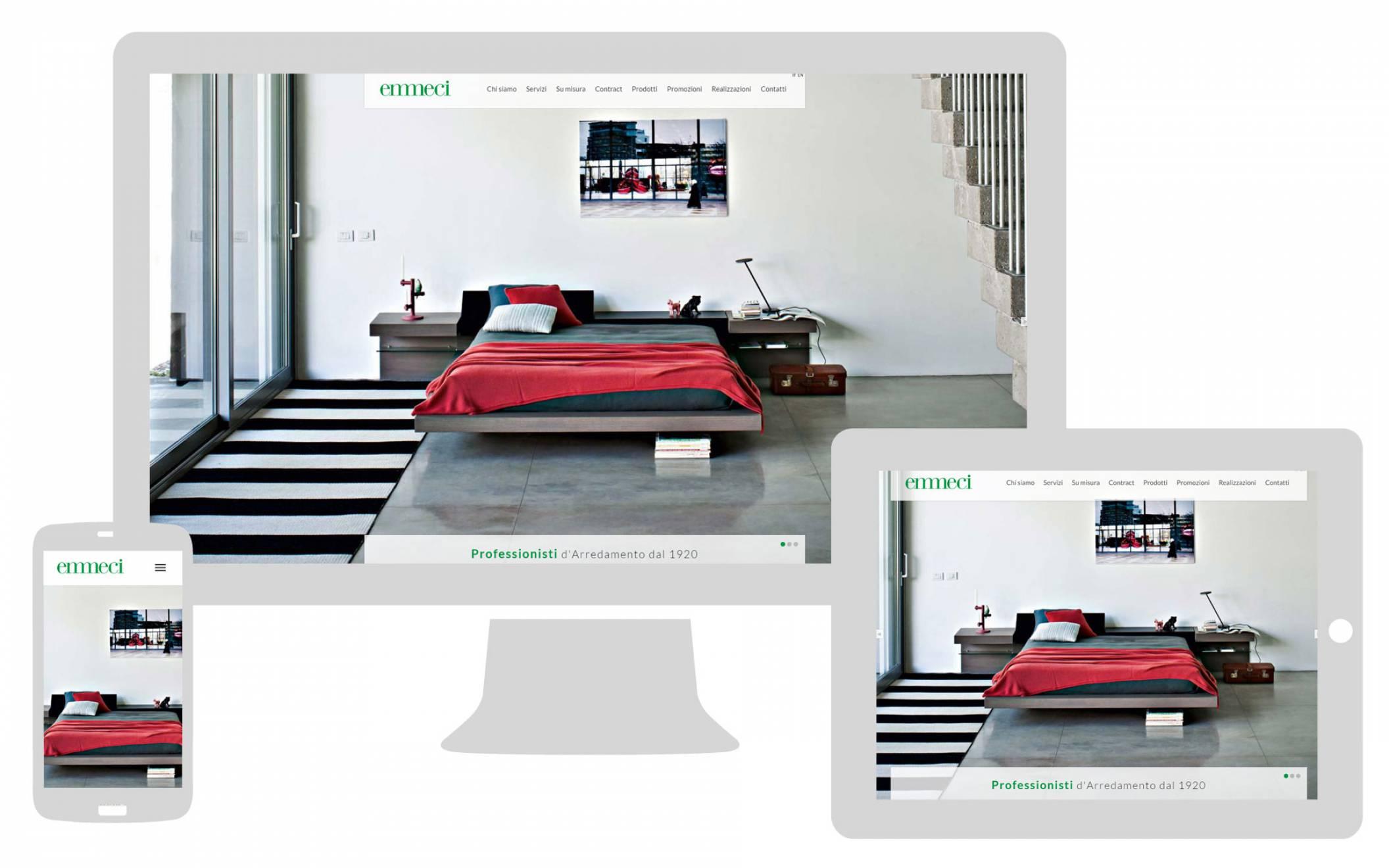 Realizzazione sito internet responsive Emmeci NewVisibility Como