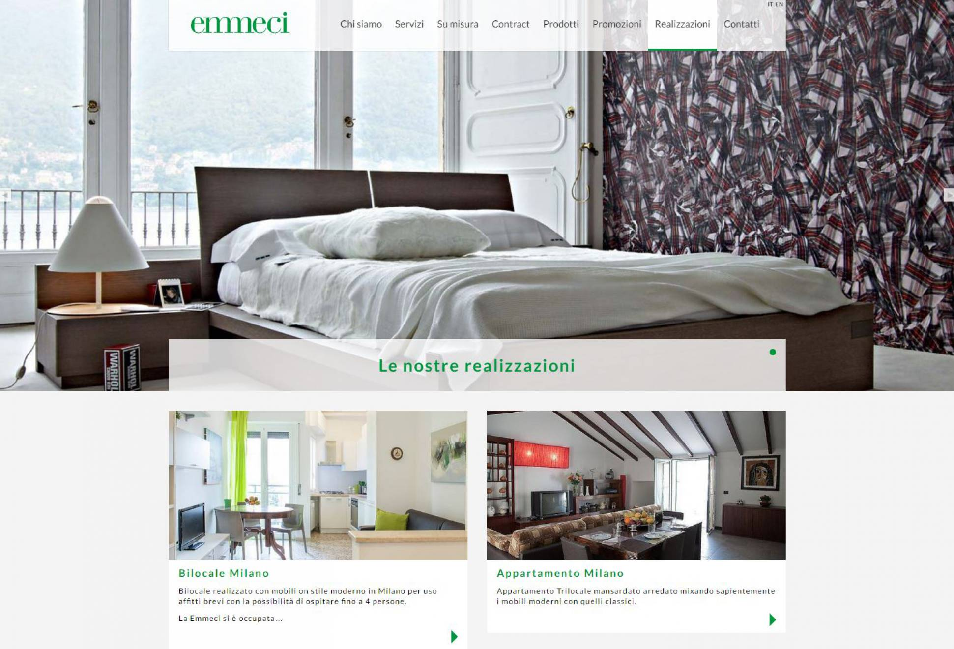 Realizzazione sito internet responsive Emmeci NewVisibility web agency