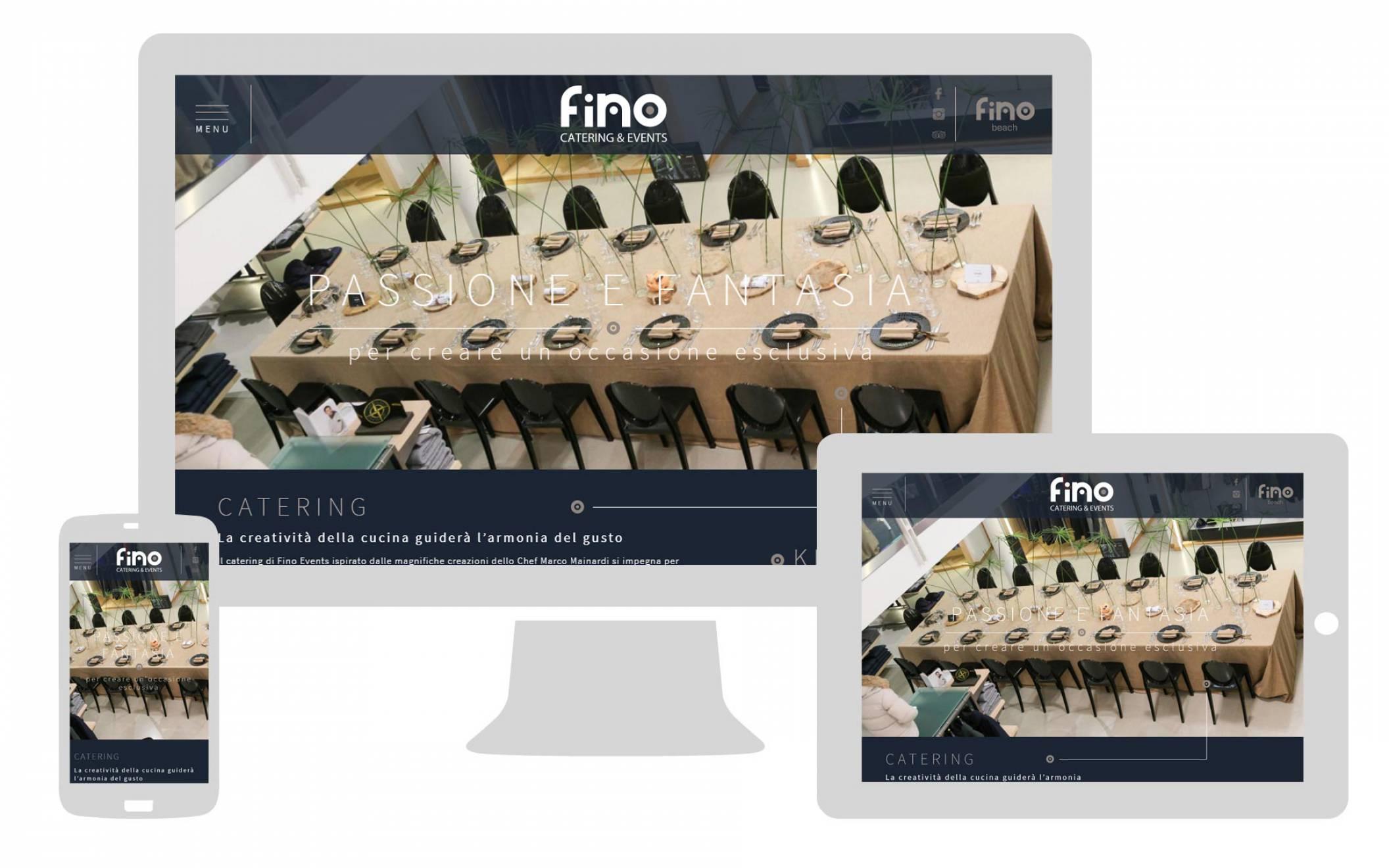 realizzazione sito internet responsive fino events newvisibility agenzia di comunicazione