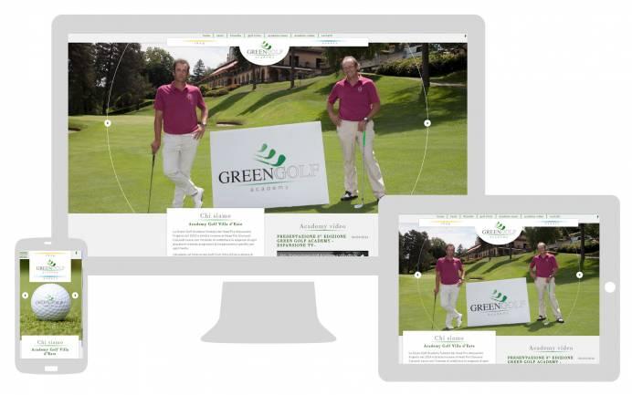 Sito internet responsive ottimizzato SEO Green Golf Academy NewVisibility