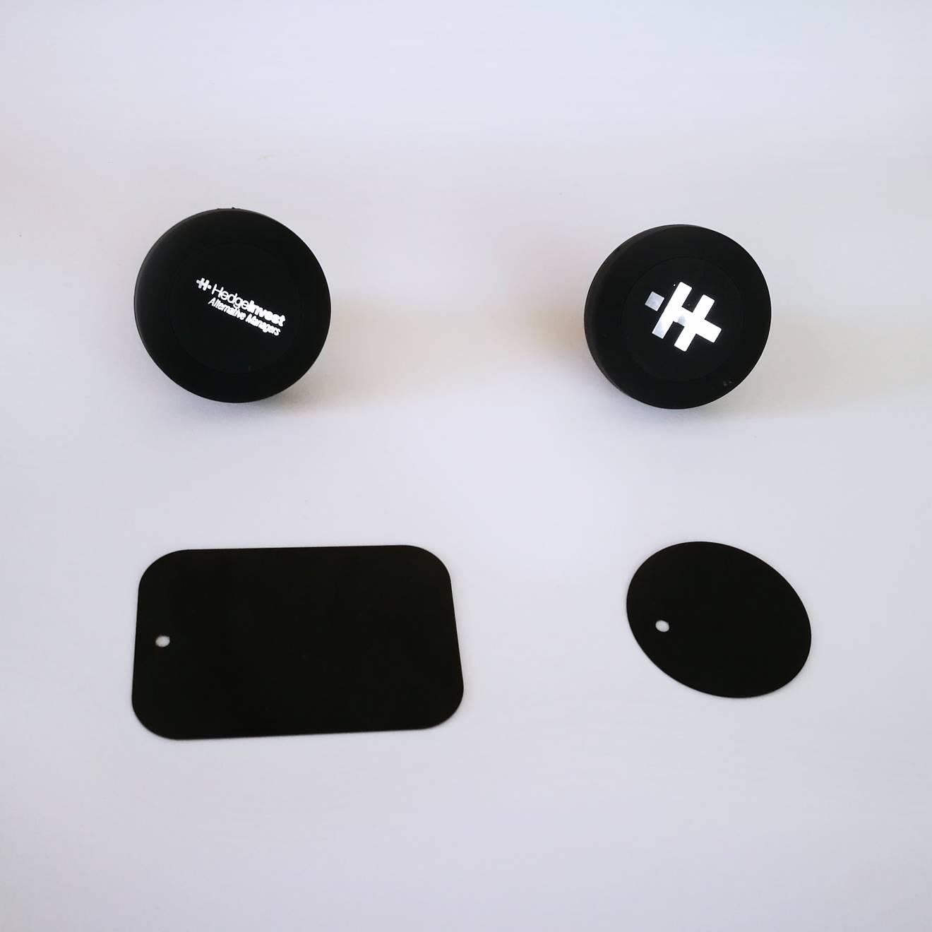 supporto magnetico per auto oggetti promozionali hedge invest newvisibility