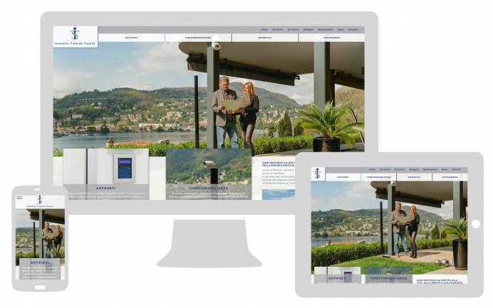 Realizzazione sito internet responsive Its Sicurezza NewVisibility