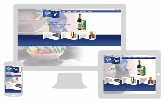 Realizzazione sito internet responsive IWD Italy NewVisibility web agency Como
