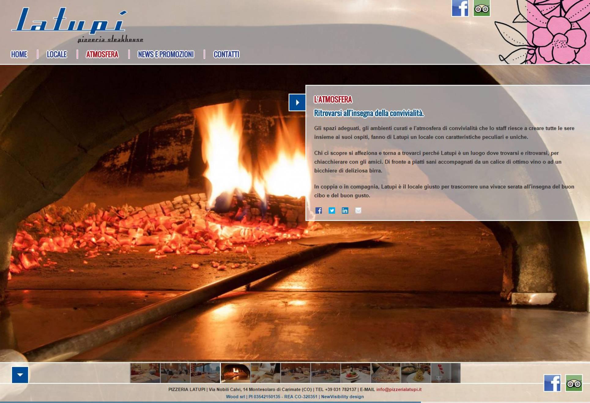 Clienti sito internet La Tupì NewVisibility