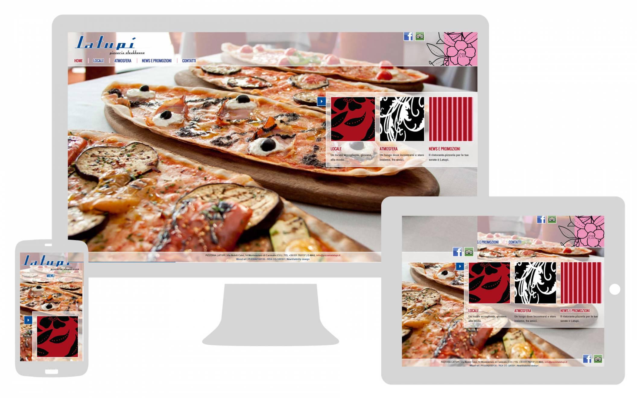 Realizzazione sito internet responsive La Tupì NewVisibility