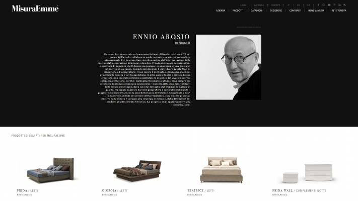 Pagina designer sito internet responsive MisuraEmme