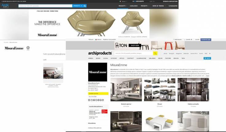 Gestione portali di design per MisuraEmme