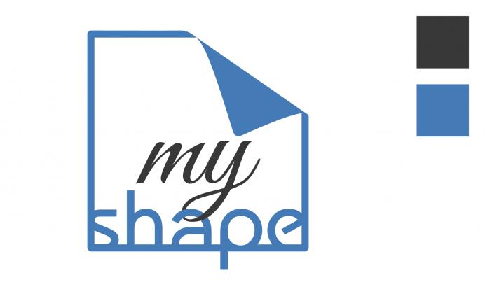 Creazione logo My Shape NewVisibility grafica web agency
