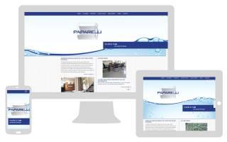 Sito internet responsive ottimizzato Paparelli NewVisibility
