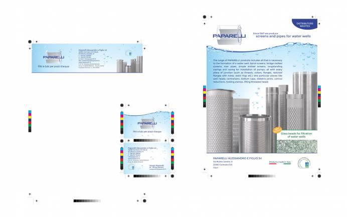 Cura immagine coordinata Paparelli NewVisibility