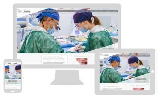 Realizzazione sito internet e landing page Polispecialistico Meroni NewVisibility