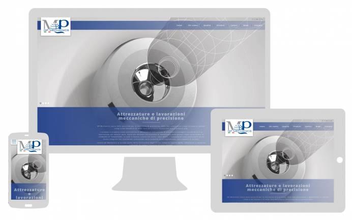 Realizzazione sito internet responsive QP Mechanics NewVisibility
