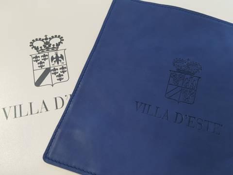 Realizzazione oggetti promozionali giochi Villa d'Este NewVisibility Como