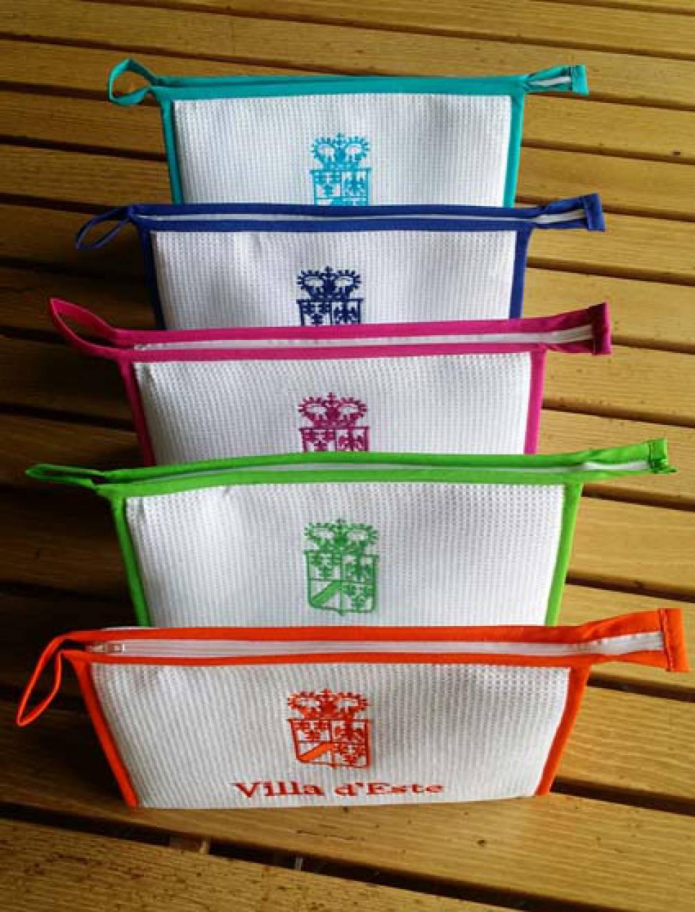 Personalizzazione realizzazione oggetti promozionali Villa d'Este NewVisibility web agency