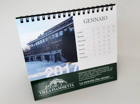 Produzione oggetti promozionali Villa Fiammetta NewVisibility web agency Como