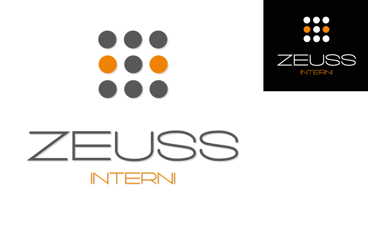 Creazione logo Zeuss Interni NewVisibility web agency Como
