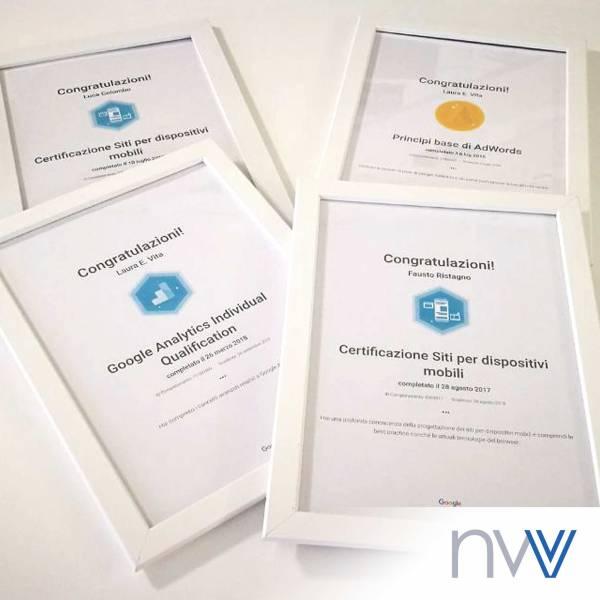 Il team NewVisibility è certificato Google! Una web agency al passo con i tempi