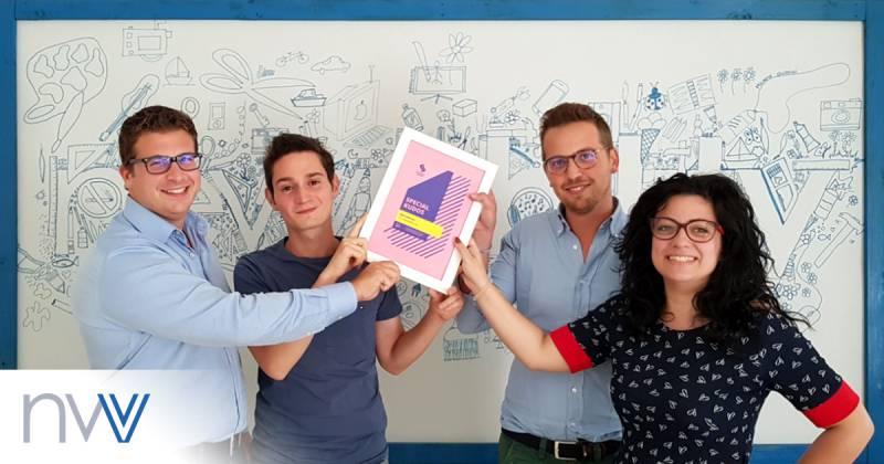 Team NewVisibility premio Css Design Awards