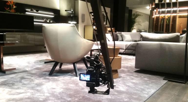 Produzione video NewVisibility presso stand MisuraEmme al Salone del Mobile di Milano 2017